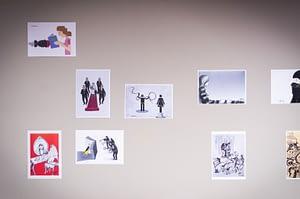 LAWRENCE berlin mitte funun gallery galerie contemporary art zeitgenössische kunst refugee artists photographer fotografin Judith Döker