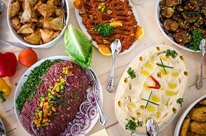 LAWRENCE berlin mitte arabisches restaurant arabic restaurant catering breakfast frühstück lunch dinner abendessen drinks getränke speisekarte menu